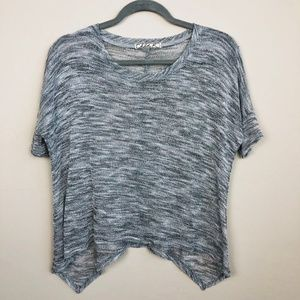 Chloe K Urban Outfitters Marled Gray T-Shirt